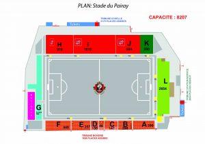 plan du stade new