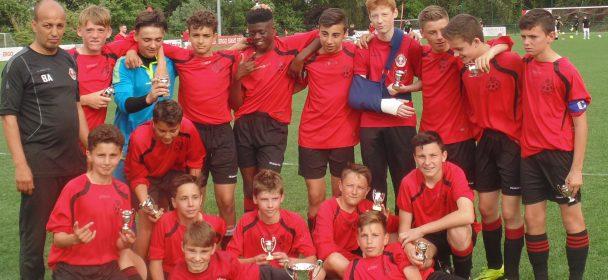 Nos U14 Provinciaux remportent la Coupe de la Province
