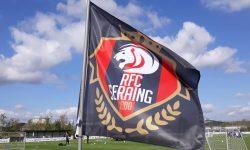 En car au Lierse avec les Red Lions