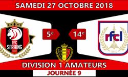 Résumé en images de: RFC-Seraing face à RFC Liège (2-2) de ce samedi 27 Octobre 2018.