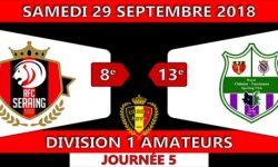 Journée 5 : RFC-Seraing face à Châtelet-Farciennes (0-1) La Vidéo.