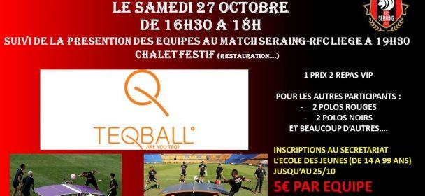 Tous au Teq-Ball le 27 octobre prochain !