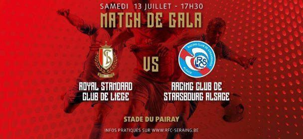 Standard de Liège – Racing Club Strasbourg Alsace : infos pratiques